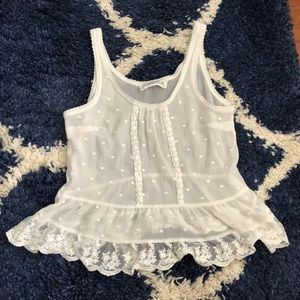 White Abercrombie & Fitch blouse